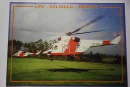 Helicopter Postcard LPU  --   HELISECO  --   SWIDNIK - Elicotteri