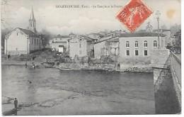 ROQUECOURBE - Le Temple Et Le Pontet - Roquecourbe