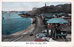 ADEN (Jemen) - Post Office And Bay, 1910? - Sehr Schöne Karte In Sehr Gutem Zustand - Jemen