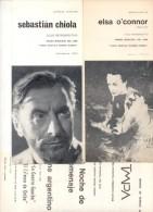 12  PROGRAMAS Y CICLOS  DE CINE Y TEATRO DIFERENTES FILMS FILM FILMOGRAFIA CINE TEATRO THEATER THEATRE - Programmi