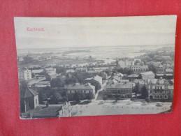Sweden Karlstad  Ca 1910  Not Mailed  Ref 1325 - Zweden