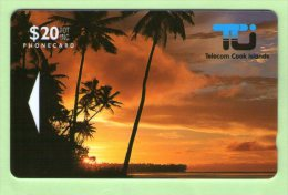 Cook Islands - 1992 First Issue $20 Sunset - COK2 - Mint - Cook Islands