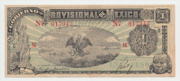 Mexico 1 Peso 1916 XF Banknote P S709 - Mexiko