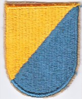 FULL SIZE BERET  FLASH  8 Th  SPECIAL  FORCES  GROUP - Patches