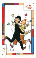TINTIN / SCHTROUMFS / LUCKY LUKE / Autres Personnages De BD - Jeu De 52 Cartes Fondation Charcot  -- C2/479 - Cartes à Jouer Classiques