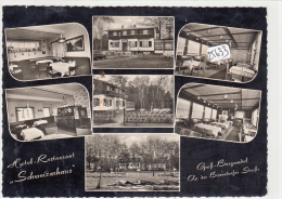 "CPM GF  - 25633-Allemagne  -  Gross Burgwedel - Multivues Du "" Schweizerhaus"" Um 1960-Envoi Gratuit - Burgwedel"