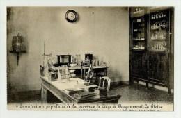 Borgoumont - La Gleize  *  Sanatorium Populaire De La Province De Liège - Laboratoire - Stoumont