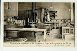 Borgoumont - La Gleize  *  Sanatorium Populaire De La Province De Liège - Cuisines - Stoumont