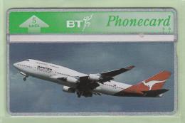 UK - BT General - 1994 QANTAS - 5u Boeing 747 - BTG347 - Mint - Aerei