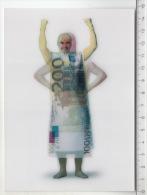 ING Bank 100 / 200 Euro - Carte 3D - Cartes Stéréoscopiques