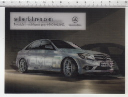 Mercedes-Benz C-Klasse - Carte 3D - Cartes Stéréoscopiques