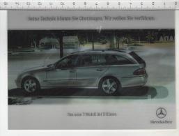 Mercedes-Benz E-Klasse - Carte 3D - Cartes Stéréoscopiques