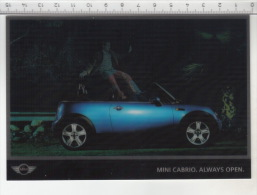 Mini Cabrio. Always Open - Carte 3D - Cartes Stéréoscopiques
