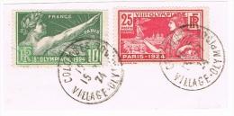 Colombes Village Olympique 1924 sur fragment