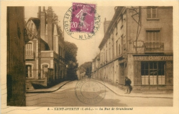 37 SAINT-AVERTIN LA RUE DE GRANDMONT CAFE COMPTOIR - Saint-Avertin