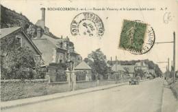 37 ROCHECORBON ROUTE DE VOUVRAY ET LA LANTERNE - VOITURE - Rochecorbon