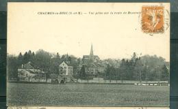CHAUMES EN BRIE ( Seine Et Marne ) - Vue Prise Sur La Route De Beauvoir   - Lff121 - Autres Communes