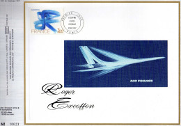 Feuillet Tirage Limité CEF 431 Air France Aviation Avion - Brieven En Documenten