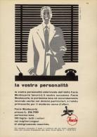 # ABITI FACIS MONTECARLO 1950s Advert Pubblicità Publicitè Reklame Suits Vetements Vestidos Anzugen - He