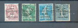 SYR 198 - YT 88-90-91-97 Obli - Levant (1885-1946)