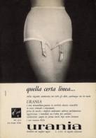 # GUAINA URANIA 1950s Advert Pubblicità Publicitè Reklame Underclothes Lingerie Ropa Intima Unterkleidung - Lingerie