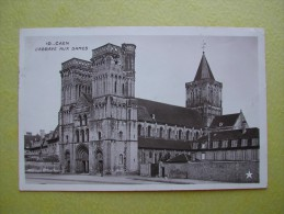 CAEN. L'Abbaye Aux Dames. - Caen