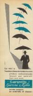 # TESSUTI PER OMBRELLI COTTINI VARESE 1950s Advert Pubblicità Reklame Umbrellas Parapluies Paraguas Regenschirme - Umbrellas, Parasols