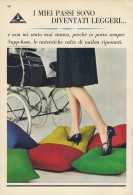 # CALZE SANTAGOSTINO SUPP-HOSE 1950s Advert Pubblicità Publicitè Reklame Stockings Bas Medias Strumpfe - Calze