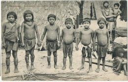 Suriname Indiaansche Vrouwtjes En Mannetjes Indian Woman And Kids Nude Edit Klein 22 Paramaribo - Surinam