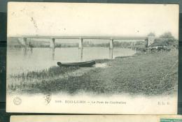 N°599  BOIS-LE-ROI -   Le Pont De Chartrettes          - LFF145 - Bois Le Roi