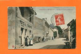 SERRIERES DE BRIORD  1916   LE BUREAU DE POSTE ET TELEGRAPHE   CIRC  OUI   EDIT - France
