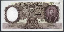 - 1000 PESOS - 1960 - Série B (Bottero - B2149 *** AUNC+ *** N°93.427.879B Très RARE !!! - Argentinien