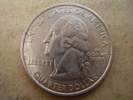 """U.S.A. 2000  STATE QUARTER  """"VIRGINIA""""  Mark ´D´ Condition USED VERY GOOD. - Other"""