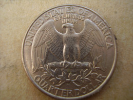 U.S.A. 1997 D  TWENTY FIVE Cents  WASHINGTON EAGLE  Condition USED  Very Good. - Other