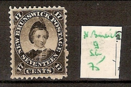 Nouveau Brunswick 9 Sans Gomme Côte 75 € - Used Stamps