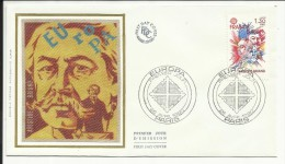 FDC , 1er Jour , 1.30 F , EUROPA 1980 , Aristide BRIAND , PARIS , 26.04.1980 , N°YT 2085 - 1980-1989