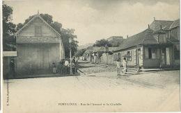 Port Louis Rue De L´ Arsenal Et La Citadelle Edit Vidal - Maurice