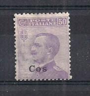 COLONIE ITALIANE  LIPSO  1912  SOPRASTAMPATI   SASS.  7  MNH VF - Egeo (Lipso)