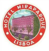 HOTEL MIRAPARQUE - LISBOA - Label - Hotel Labels