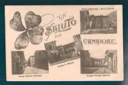 LUCCA CAMAIORE VEDUTINE CARTOLINA FORMATO PICCOLO - Italy