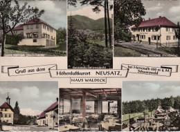 GRUSS AUS DEM HÖHENLUFTKURORT NEUSATZ BEI HERRENALB U. M. SCHWARZWALD / HAUS WALDECK - Bad Herrenalb