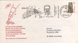 """DEUTSCHLAND  MUNCHEN  Satellite Suedois Allemand """"Freja"""" Pour L'étude De L'ionosphère Et De La Magnétosphère Terrestre - Europe"""