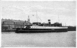 HAIMDAL Boat KORSOR Automobilfargen 1934 - Denmark