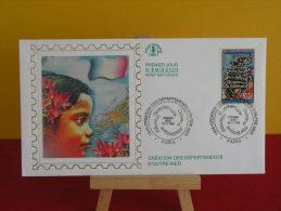 FDC- Création Des Départements D´Outre Mer - Paris - 16.11.1996 - 1er Jour, - FDC