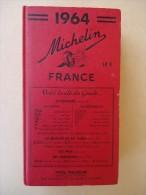 Guide Michelin  France - 1964 - - Michelin-Führer
