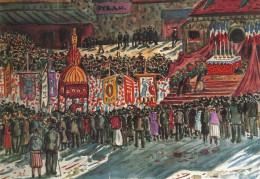 Henri De Saint-Delis - La Procession à Sainte-Catherine ( Honfleur) - Pintura & Cuadros