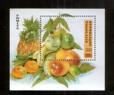 Togo Block 395 ** Früchte (1996) - Obst & Früchte