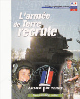 CAEN L´ ARMEE DE TERRE RECRUTE ( OBLITERATION DESSINEE PAR GEORGES LAUDO ) - Caen