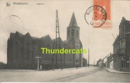 CPA  MIDDELKERKE L´EGLISE DE KERK NELS EDIT. A. TEMPERE MUYLE - Middelkerke