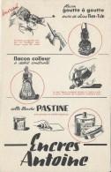 Bureau/ Encres Antoine /Goutte à Goutte / Flacon Colleur / /vers 1945-1955     BUV140 - Vloeipapier
